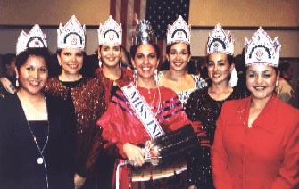 Miss Indian USA Winners